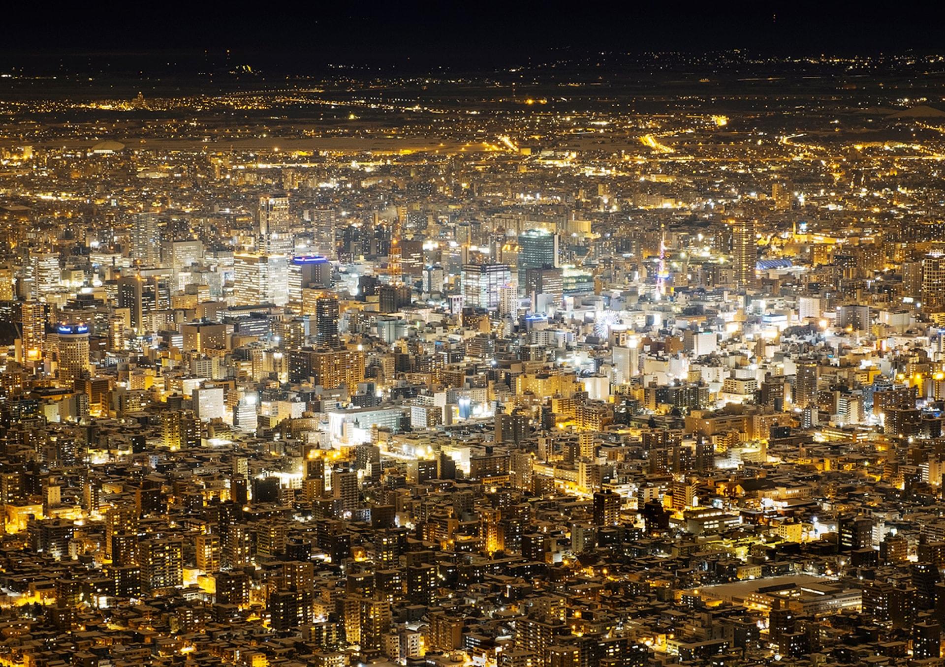 札幌夜景写真コンテスト2017-2018 グランプリ作品「メトロポリス」