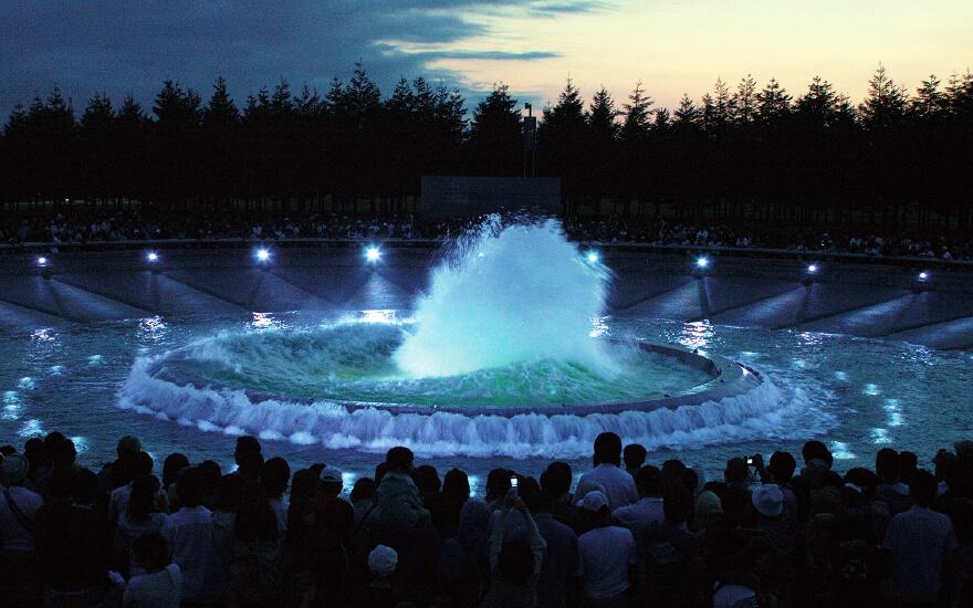 Moerenuma Park Fountain of the Sea