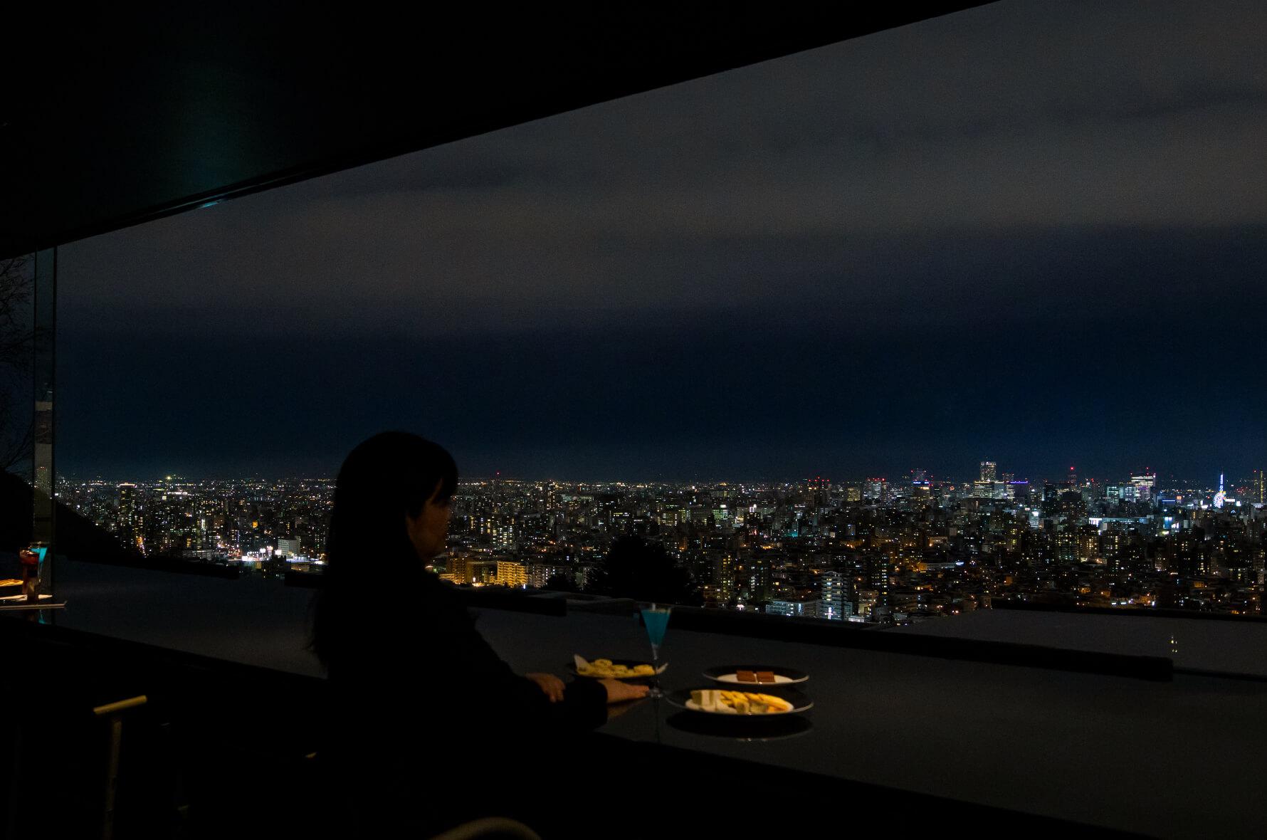 N43からの夜景